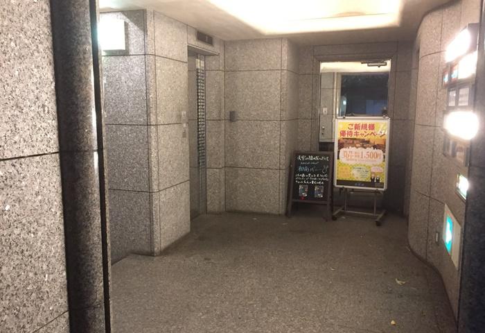 ケインズタワーの入口